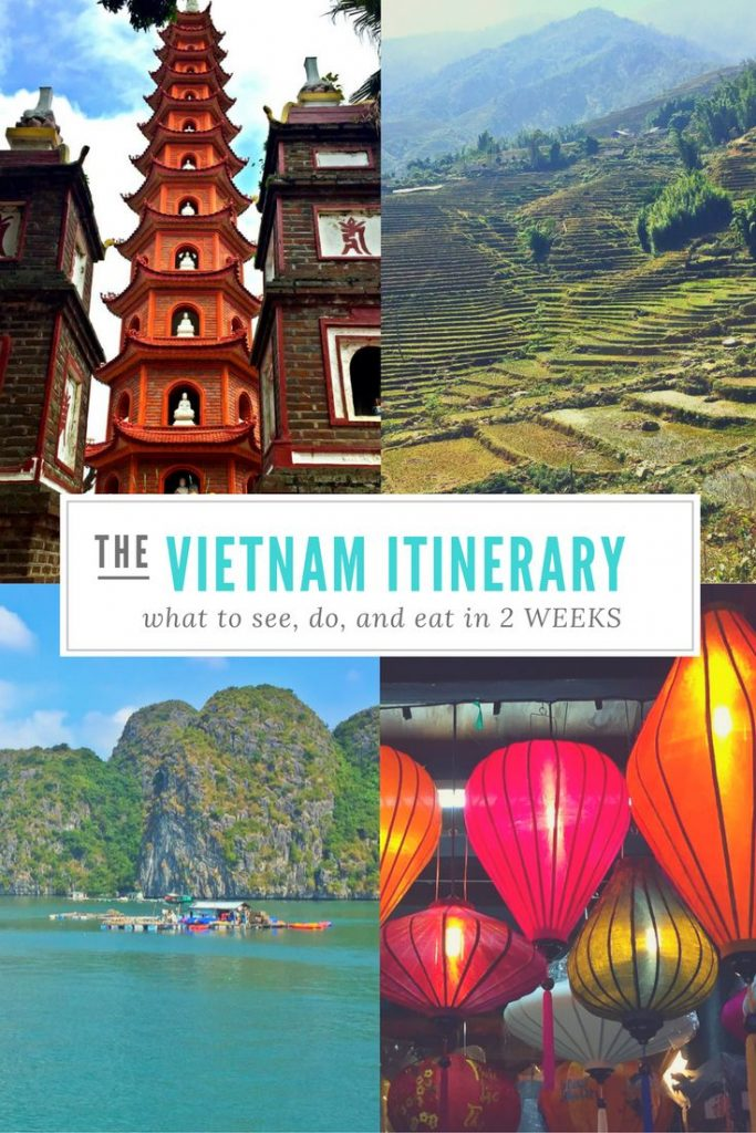 AWESOME VIETNAM ITINERARY! // 2 weeks in Vietnam!   Heading to Vietnam soon?  Th...