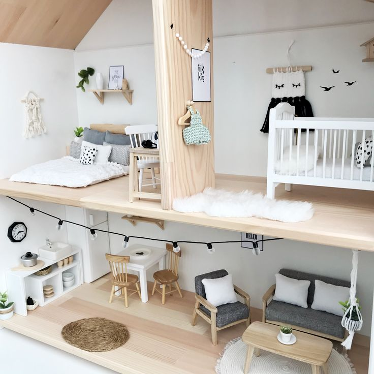 Pretty Little Minis - modern dollhouse furniture and decor for sale