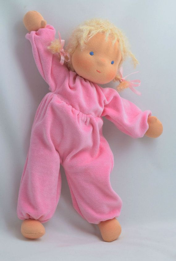 Lulu is a very cute soft doll. She is 14 tall (about 35 cm). She has a ...