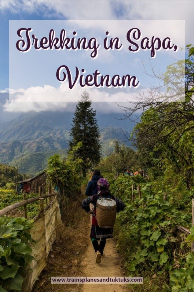 Discover what it's like to go trekking in Sapa Vietnam. Hike through rice fields...