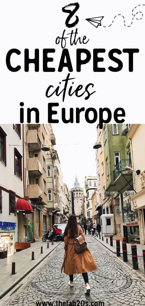 8 Of The Cheapest Cities In Europe That You Need To Visit! Looking for affordabl...