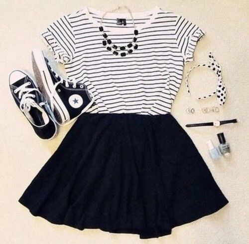 black, clothes, converse, cool, dream, fashion, girly, headband, hippie, hipster...