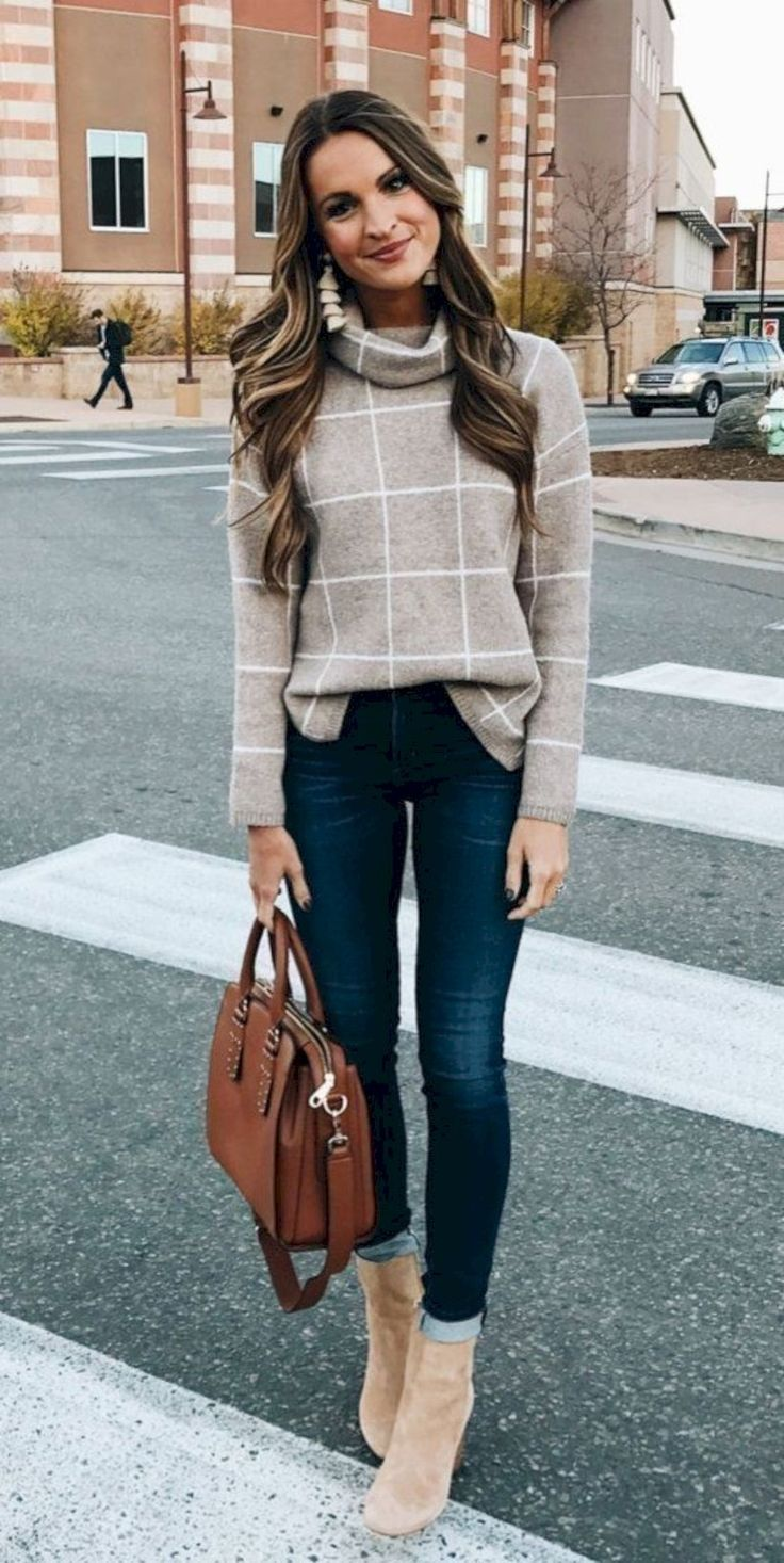 50 Popular Fall Outfits to Upgrade your Look #Outfit #Women Outfit #Women Outfit