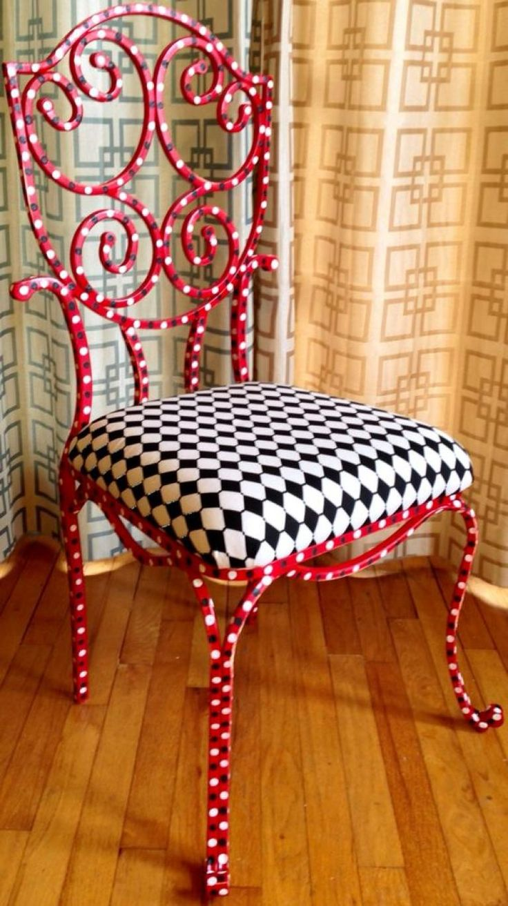 30+Creative DIY Painted Chair Design Ideas - Page 8 of 39