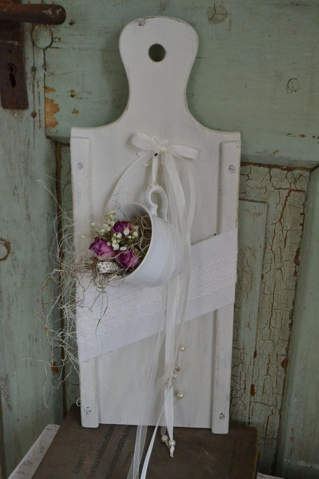 """Decorative objects - shabby decoration """"Kitchen Love"""" - a unique product by Blumenallee b ..."""