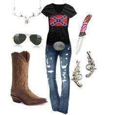 """Country Girl Outfit Ideas 