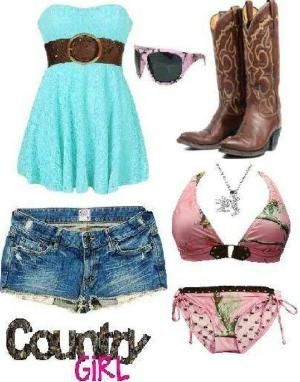 Country Girl Swimwear Outfit by lucia