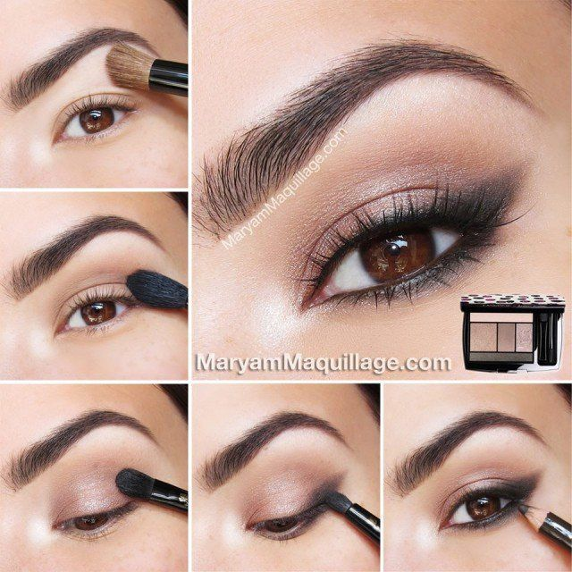 Fashionble Natural Eye Make up Tutorials for Work # Beauty