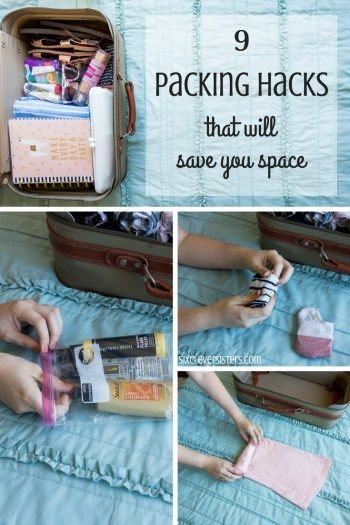 Tips for Packing   Packing Hacks   Save Space when Packing   Travel Tips   Trave...