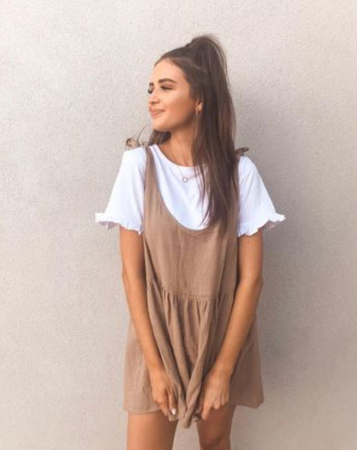 Summer Dress - Casual Autumn Outfit, Winter Outfit, Style, Outfit Inspiration,