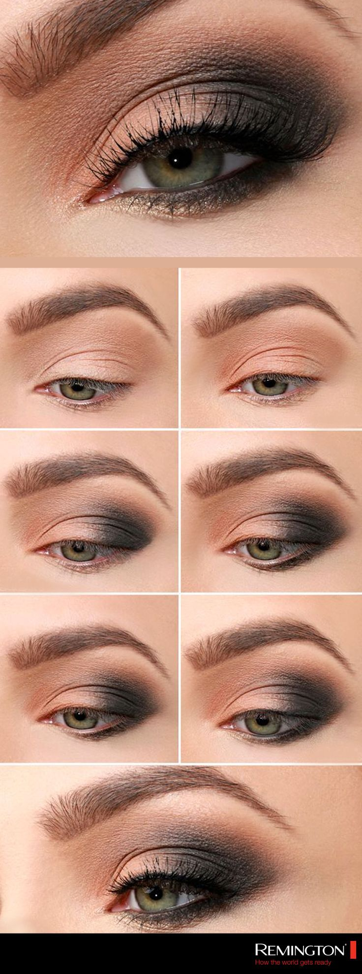 The eyes are the point of attention on your face, apply this smokey eye to give ... - #applica ...