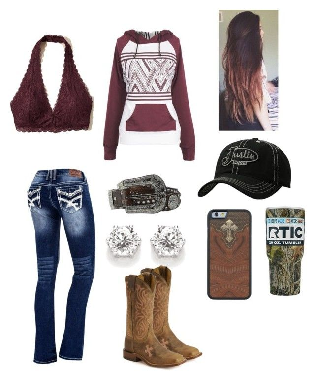 """""""Rocky Mountain High"""" by babyinblue on Polyvore featuring M&F Western, Hollister..."""
