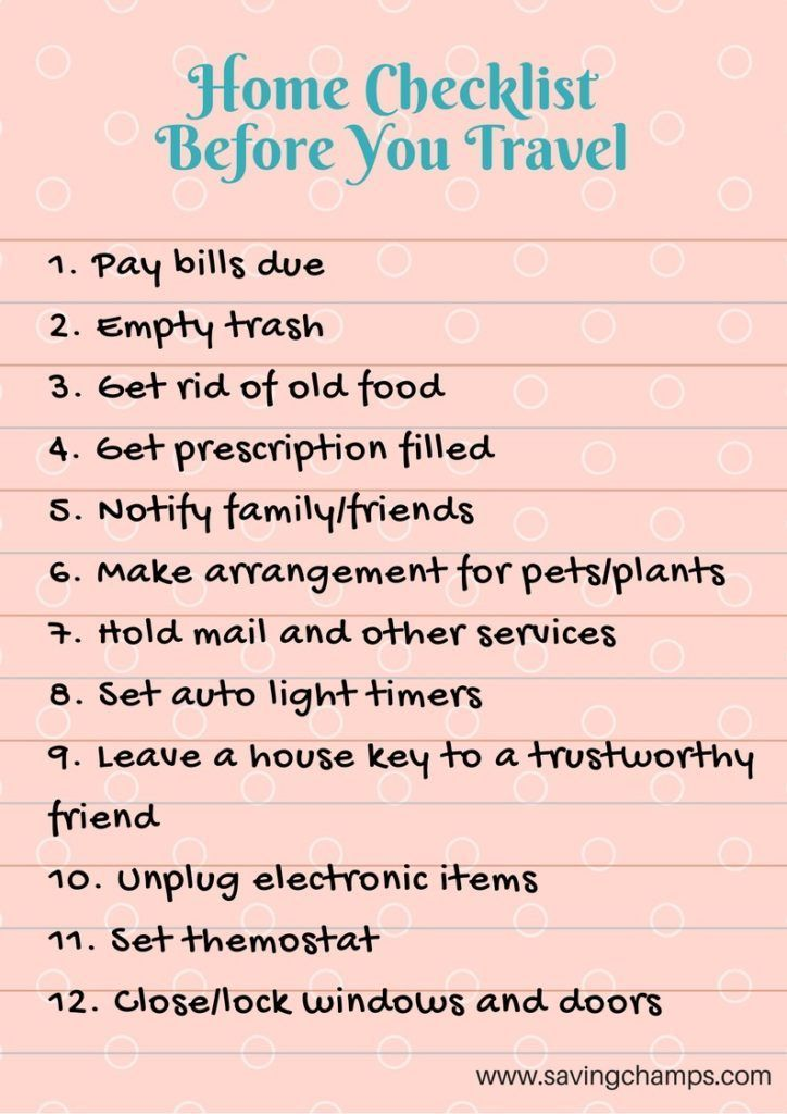 Travel checklists are essential for gaining peace of mind and saving time and mo...