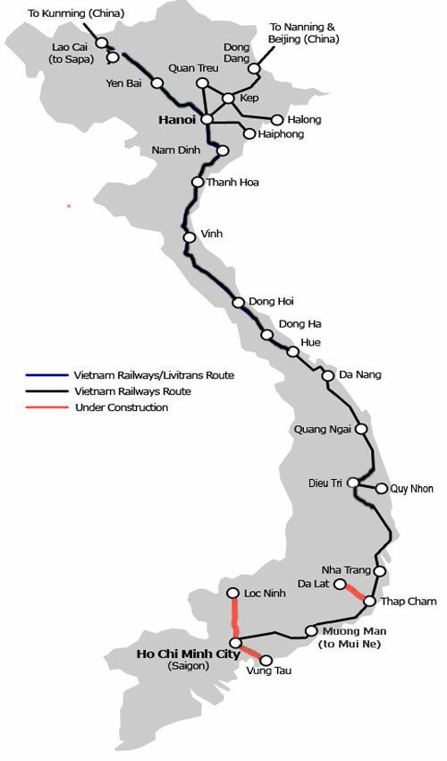 Is it possible to travel Vietnam individually? Which means of transport should one ...