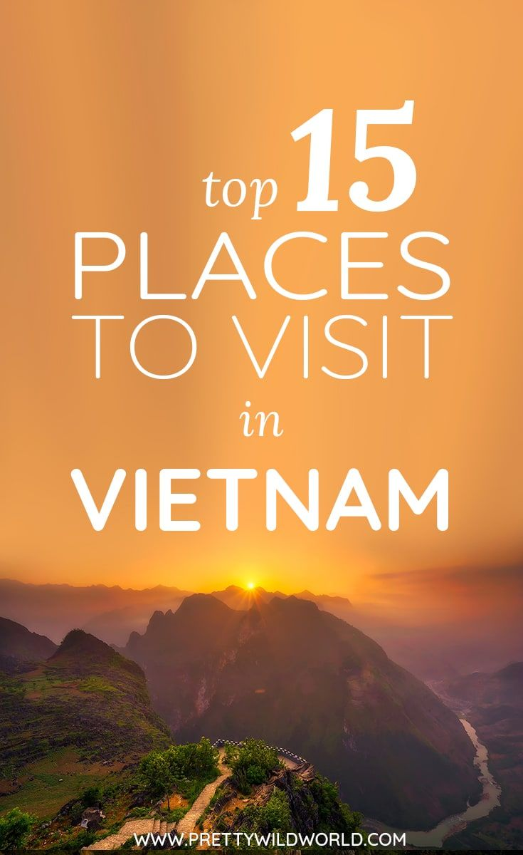 Do you want to know the best places to visit in Vietnam? We got you covered! Loc...