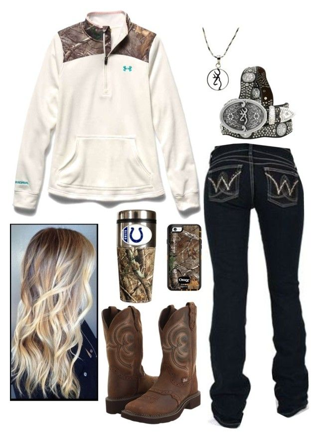 """Untitled #630"" by princess-raygen ❤ liked on Polyvore featuring Justin, Wrang..."
