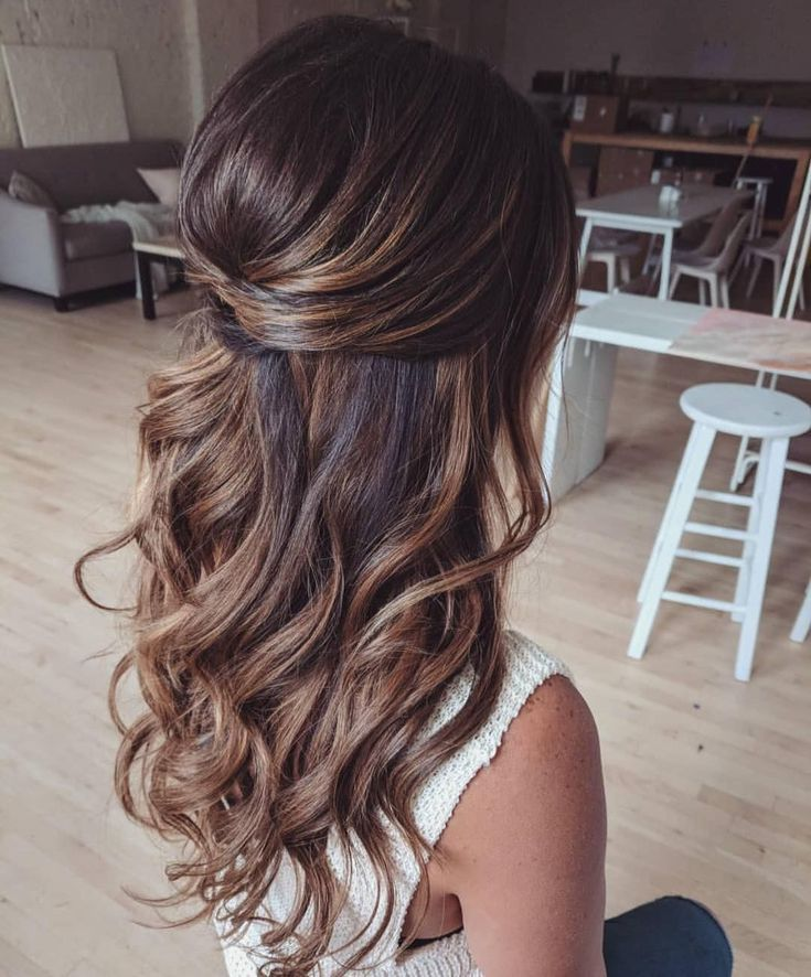 39 Gorgeous Half Up Half Down Hairstyles #styles #wonderful