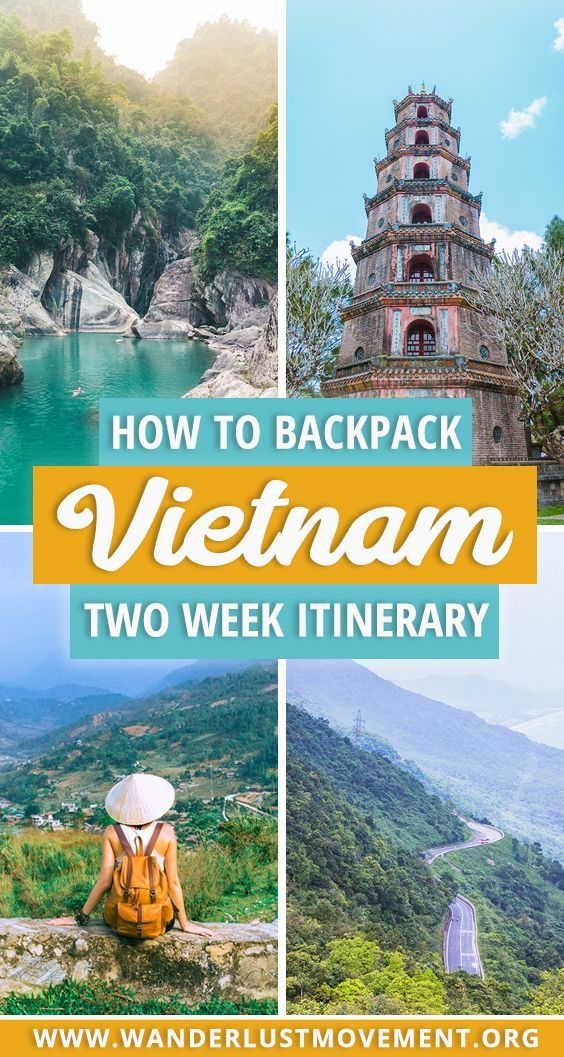Looking for the best places to visit in Vietnam? Here's my 2-week Vietnam backpa...
