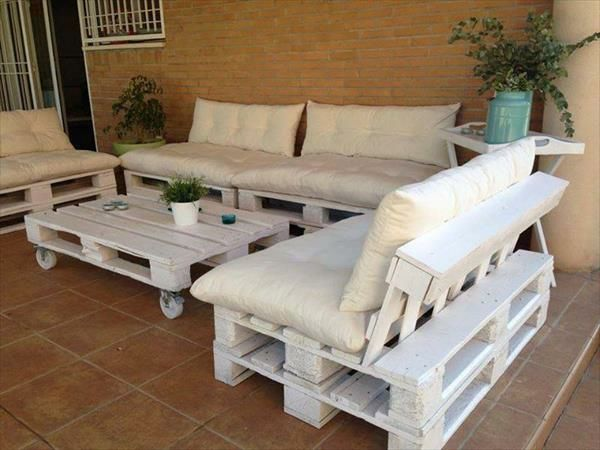45 DIY massive wooden furniture made of pallets - environmentally friendly and useful