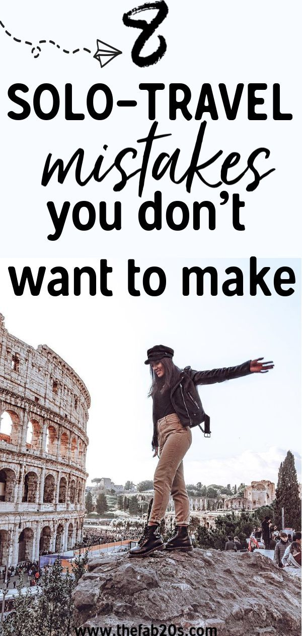 Are you preparing for a Solo Trip? Don't make these common solo travel mistakes....