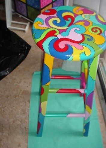 Funky painted furniture chair makeover 30+ Ideas
