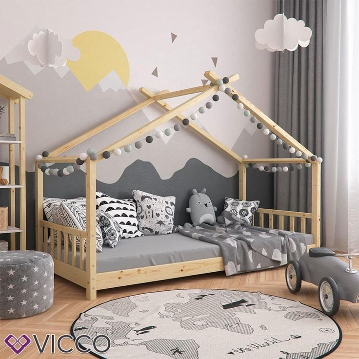 VICCO children bed bed DESIGN 90x200cm picture 2