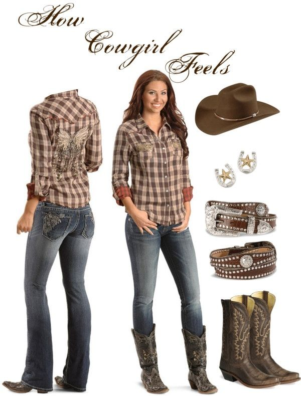 The western and the cow girl outfit cowgirl outfit  LSCMNVR