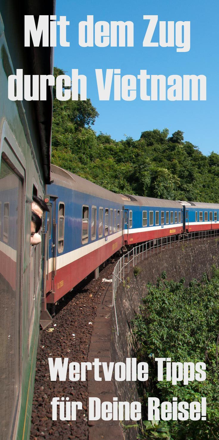 By train through Vietnam. Train travel tips with information on train tickets, timetables, trains ...