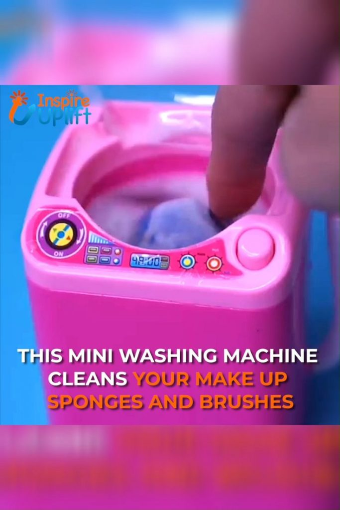 Makeup Sponge & Brush Washing Machine 😍