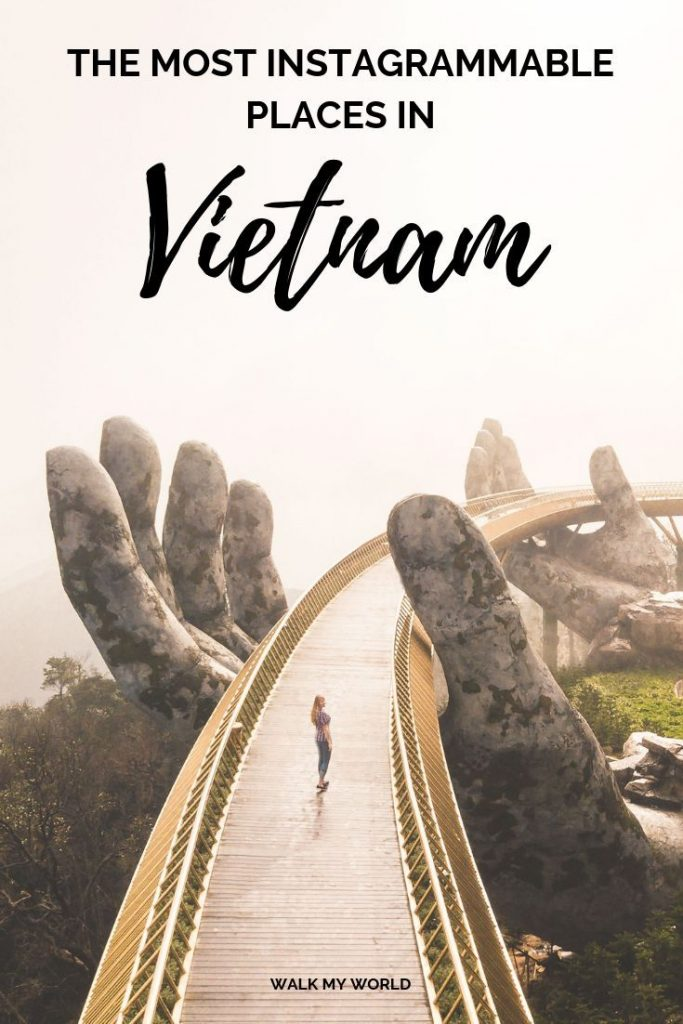 15 Instagram worthy places in Vietnam and how to get to them including Train Str...