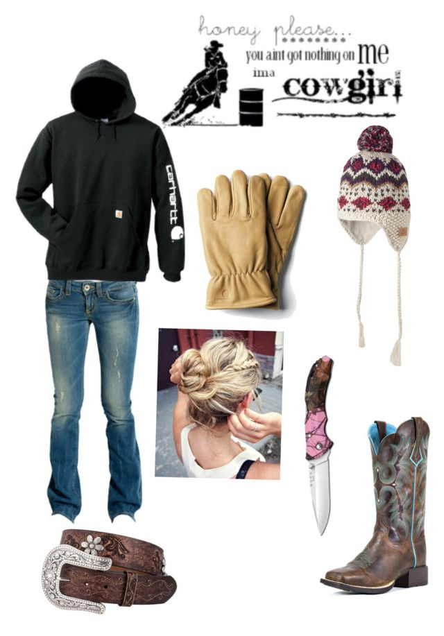 """Chore time"" by countrygirl-14 ❤ liked on Polyvore featuring GUESS and Carhart..."