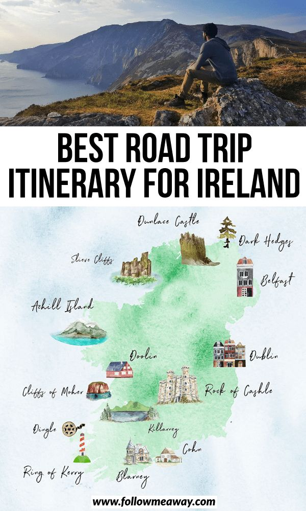 Best Road Trip Itinerary For Ireland | How To Plan Your Ireland Road Trip | plan...