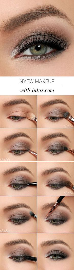 11 Simple Step By Step Make Up Tutorials For Beginners // # Beginner ...