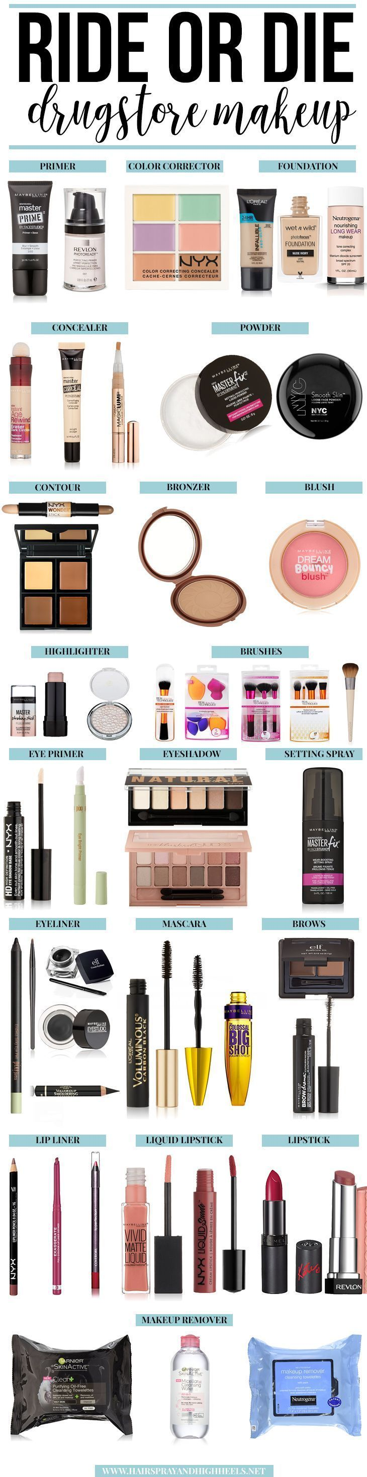Are you in need of an updated makeup routine? Check out the Ride or Die Makeup p...