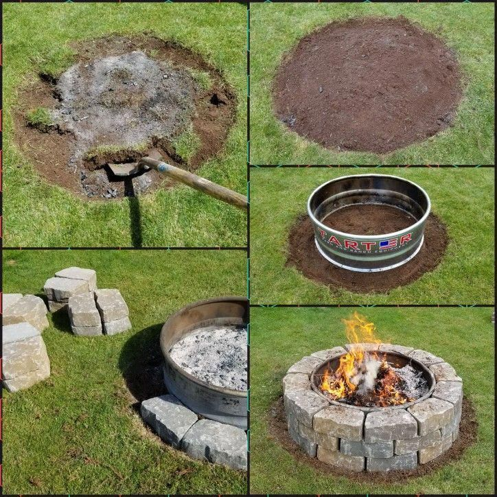 5 Simple and Crazy Ideas: Fire Pit Furniture Tutorials Flagstone Fire Pit ...