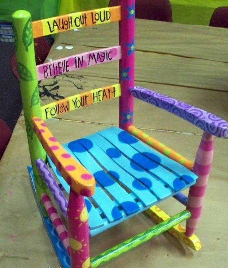 30+Creative DIY Painted Chair Design Ideas - Page 15 of 39