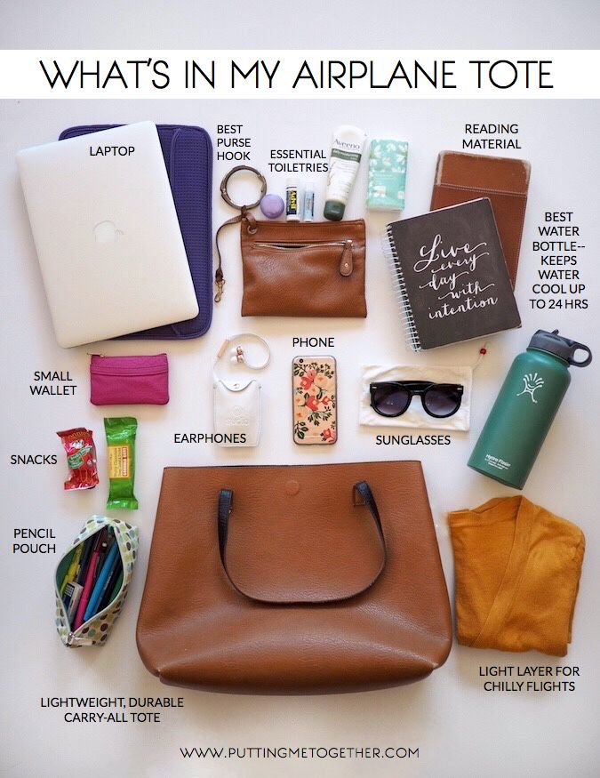 Packing Tips: What's In My Carry On Tote | Putting Me Together | Bloglovin...
