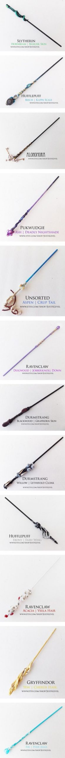 Harry Potter Inspired Wands by grandmasfood on Polyvore featuring beauty product...