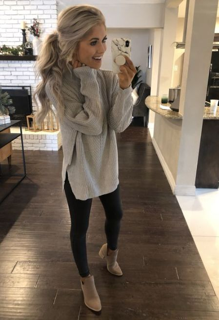 50 Beautiful Weekend Casual Outfits For Women  #CasualOutfit #ReadyToMeal #Weeke...