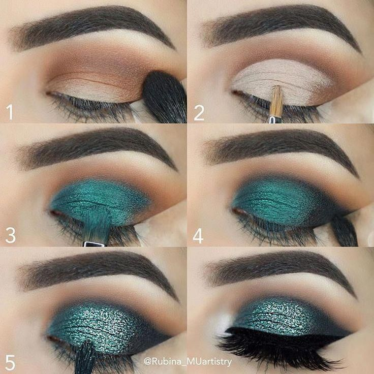 30+ Step by Step Blue Blush Makeup Tutorial. Easy to follow eyes ma ...