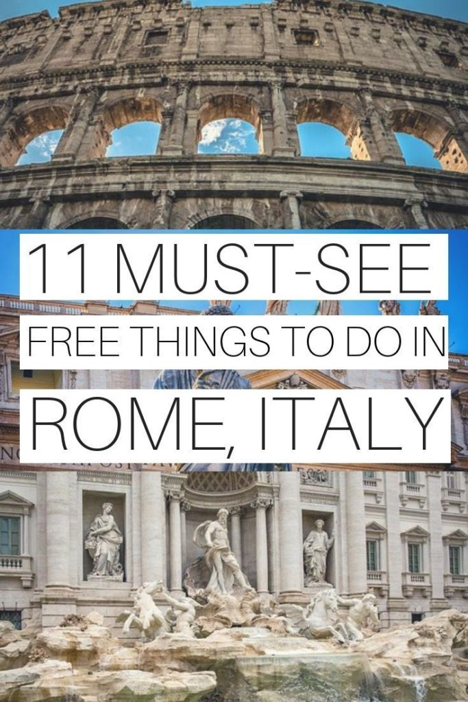 11 FREE THINGS TO DO IN ROME, ITALY | ROME TRAVEL TIPS | PLACES TO VISIT IN ROME...