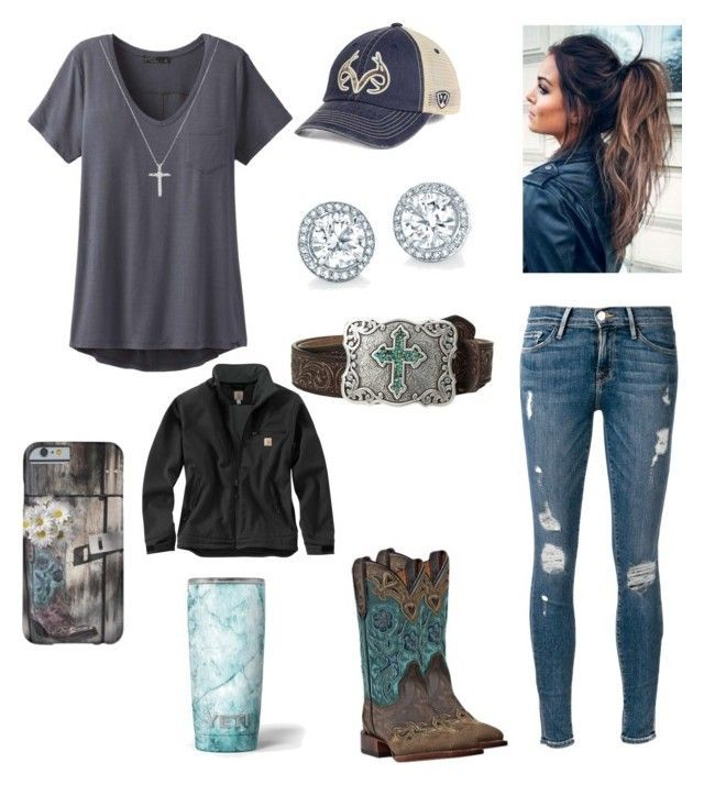 """""""Blue Skies and Blue Eyes"""" by babyinblue on Polyvore featuring M&F Western, Top ..."""