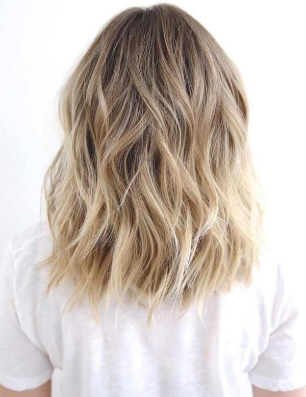 50 Bombshell Blonde Balayage Hairstyles that are cute and easy #balayage #bl ...