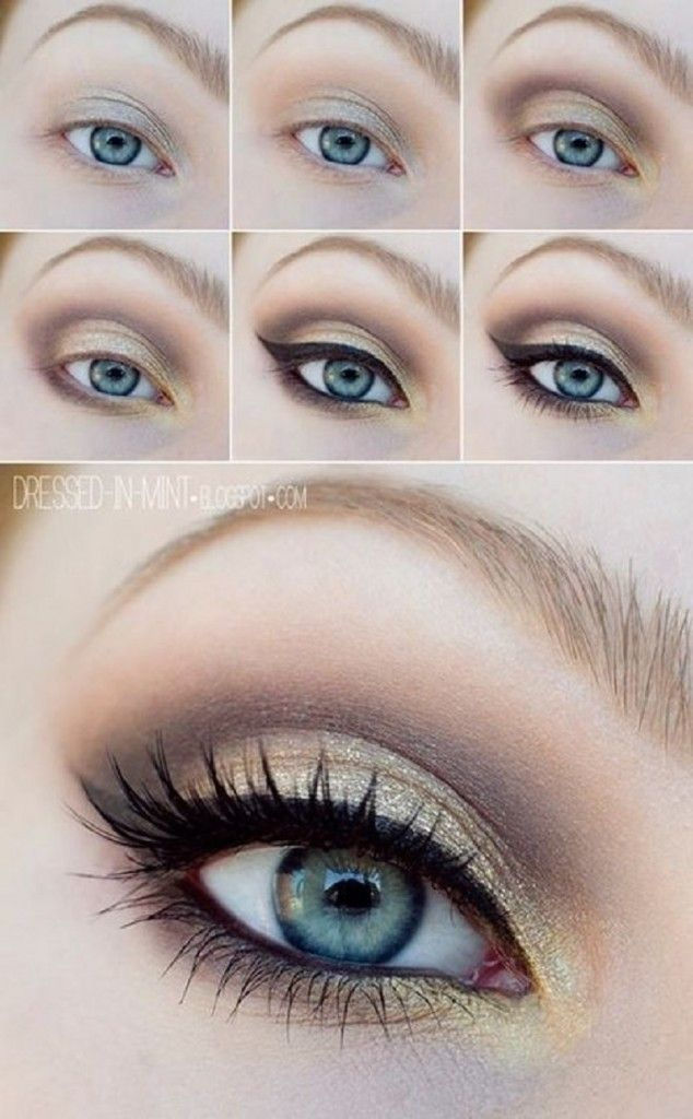 15 Simple Step By Step Make Up Tutorials For Beginners # Beauty