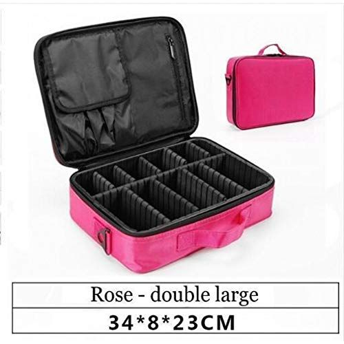 YHSGY Travel Cosmetic Bag Empty Makeup Organizer Case Large Capacity Case