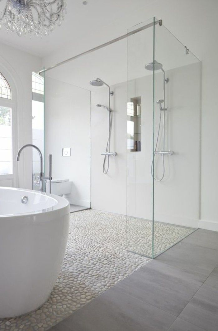bathroom design ideas bathroom ideas bathroom in white with retro bathtub and nature ...