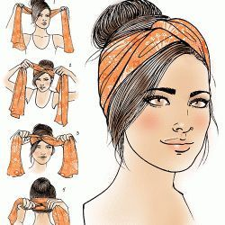 - Turban how-to for Latina Magazine  #HOWTO #Latina #Magazine #Turban Genel  #fr...