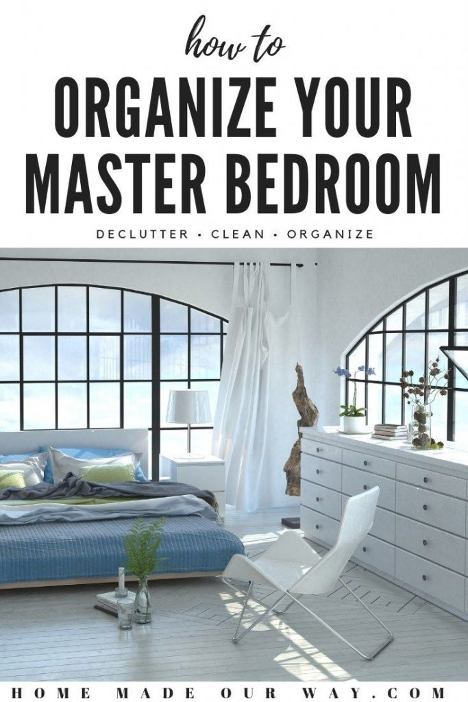 Need help organizing your masterbedroom? Click through and learn how to create f...