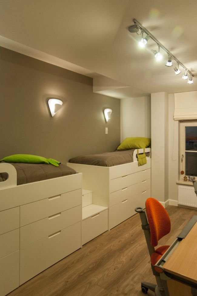 12 space-saving ideas for small children's rooms and youth rooms - # for # youth rooms ...