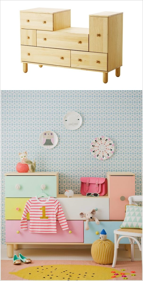 10 Ingenious IKEA Furniture Hacks for Your Kids' Room 7